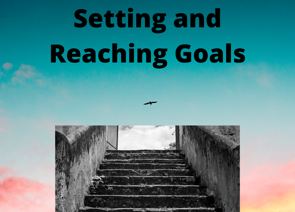 outside staircase - make progress in your goals